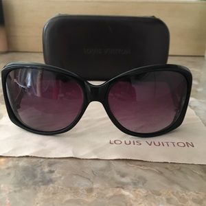 Louis Vuitton women's sunglasses.Almost new frames